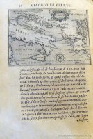c. I1v: Cartina dell'Italia e del Mar Adriatico (90x125 mm)