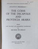 Frontespizio The Coins of the Decapolis and Provincia Arabia